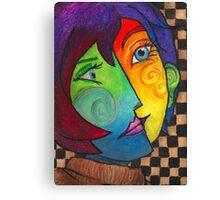 Picasso Portrait Canvas Print