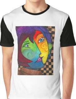 Picasso Portrait Graphic T-Shirt