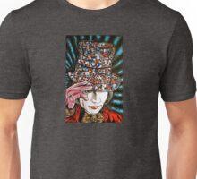 Johnny Depp as Willy Wonka Unisex T-Shirt