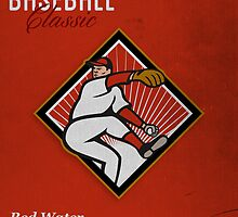 All American Baseball Classic Vintage Poster by patrimonio