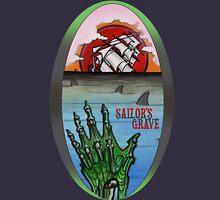 sailor's grave, shipwreck tattoo. Unisex T-Shirt