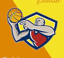 Memorial Day Basketball Classic Poster by patrimonio