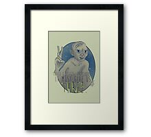 THREE!! Framed Print