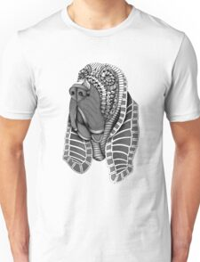 Ornate Bloodhound Unisex T-Shirt