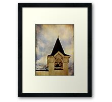 Steeple and Bell Framed Print