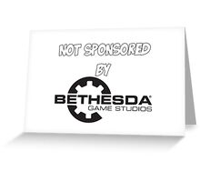 Not sponsored by Bethesda Greeting Card