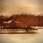Winter Farm by PineSinger