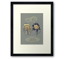 Fili and Kili Framed Print