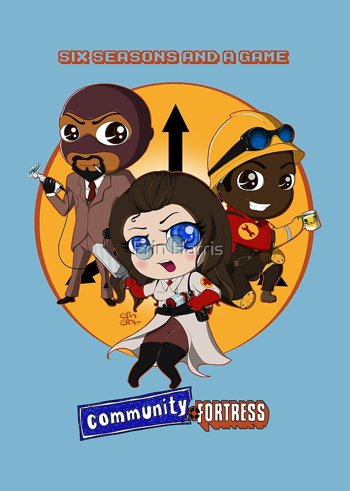 Community Fortress Part 1 by Erin Harris