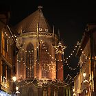 Christmas Lights, in Colmar, Alsace, France by remos