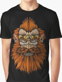 Ornate Dwarf full colored Graphic T-Shirt