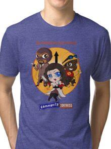 Community Fortress Part 1 Tri-blend T-Shirt