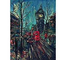 Impressionistic London Photographic Print
