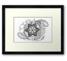 Turn black and white Framed Print