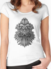 Ornate Dwarf Women's Fitted Scoop T-Shirt