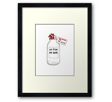Merry Christmas from The Doctor Framed Print