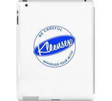 Kleensex parody logo of Kleenex iPad Case/Skin