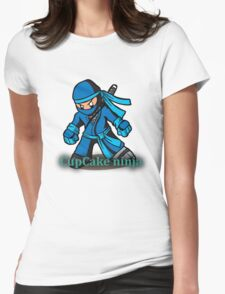 CupCake Ninja Tee Womens Fitted T-Shirt