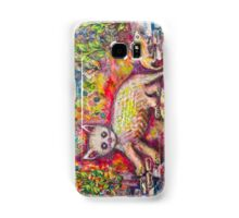 Playing Cat 'n' Mouse Samsung Galaxy Case/Skin