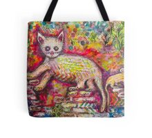 Playing Cat 'n' Mouse Tote Bag