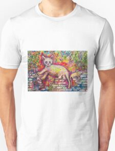 Playing Cat 'n' Mouse Unisex T-Shirt