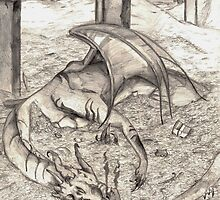 Smaug the Magnificent by Lizzie  Cavanagh