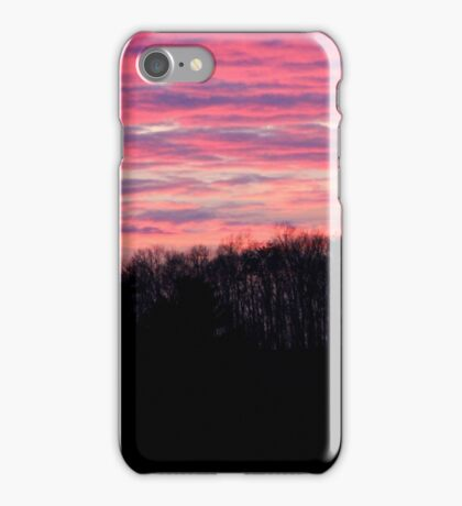 Another Roadside Sunset iPhone Case/Skin