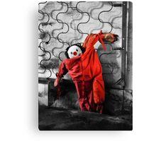 Red Pajamas Canvas Print