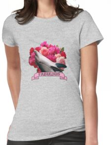 The Fabulous Dolphin Womens Fitted T-Shirt