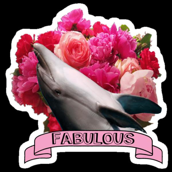 The Fabulous Dolphin by Erik Mathiesen