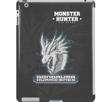 Monster Hunter All Stars - Dondruma Hurricanes iPad Case/Skin