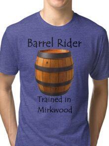 Barrel Rider - Trained in Mirkwood Tri-blend T-Shirt