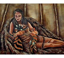The Buffalo Blanket, Wrapped In Tradition Photographic Print