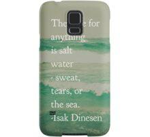 Salt Water Cure Samsung Galaxy Case/Skin