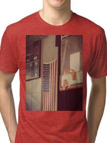 Basketball Gym Tri-blend T-Shirt