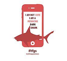 Rin || Dark Menacing Shark Photographic Print
