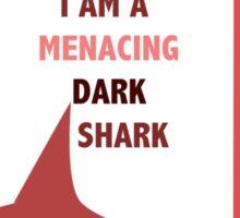 Rin || Dark Menacing Shark Sticker
