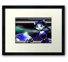 Krystal's On a Mission  Framed Print