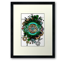 Ecology_Movement Framed Print