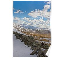Lake District in Winter Poster