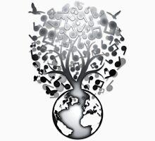 The_Music_Tree Unisex T-Shirt