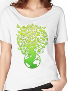 The_Music_Tree Women's Relaxed Fit T-Shirt