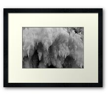 Looks Soft & Warm, but isn't. What is it? Solved! It is Frost Framed Print