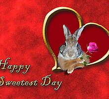 Sweetest Day Bunny by jkartlife