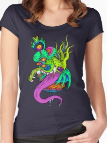 Dragon Head Women's Fitted Scoop T-Shirt
