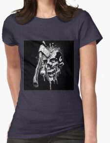 zombie dead  Womens Fitted T-Shirt
