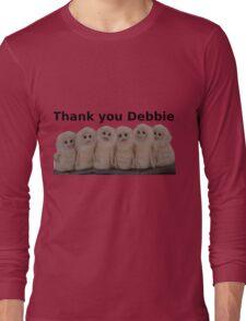 Yonderland - Parvuli - Thank You Debbie Long Sleeve T-Shirt