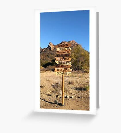 M*A*S*H Greeting Card
