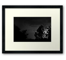 Bat Lightning Framed Print