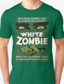 Cool White Zombie Film Poster T-Shirt